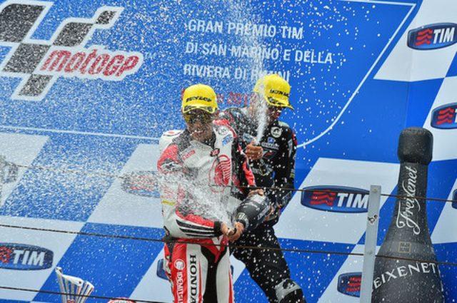 画像: Moto2に参戦する中上貴晶 選手が3位表彰台を獲得!