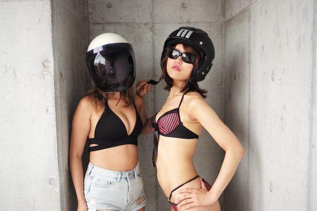 画像5: 深夜のグラビア【ヘルメット女子】SEASON-X 013