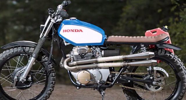 画像: 米国のカスタムビルダー NO. 8 WIRE Motorcycles、今度はHONDAだ!