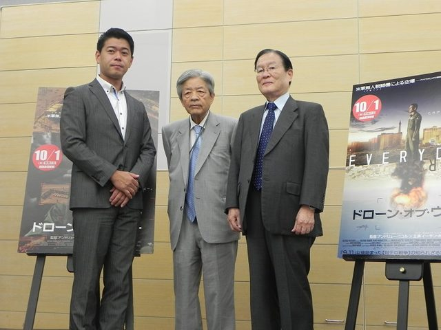 画像3: キャスターの長谷川豊氏が司会進行を務め、本作で描かれる「新しい戦争の形」について熱く語り合った。