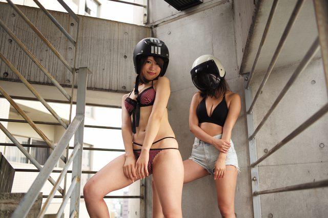 画像2: シルバーウィークスペシャルグラビア【ヘルメット女子】SEASON-X 020
