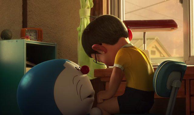 画像: 辛く悲しいが、現実を受け入れざるを得ないのび太 doraemon-3d.com