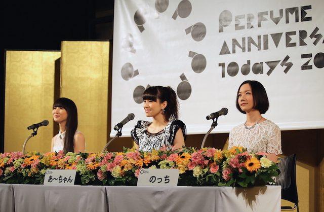 """画像: Perfume結成15周年・メジャーデビュー10周年記念「Perfume Anniversary 10days 2015 PPPPPPPPPP」、""""脂の乗った""""開会宣言レポート"""