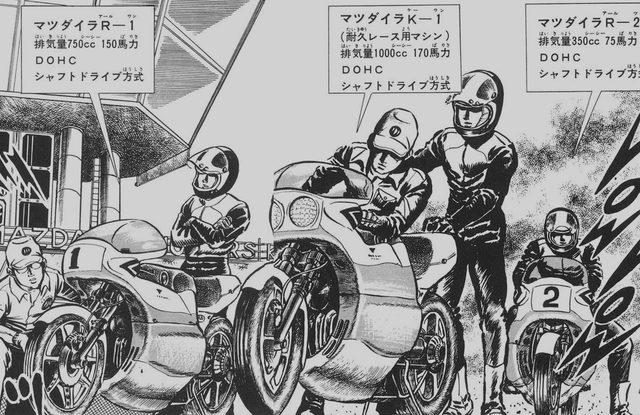 画像: マツダイラが開発したレース用マシン