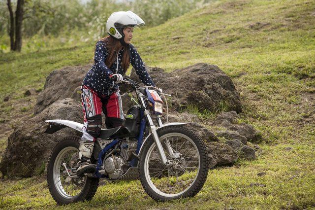 画像: セッちゃんはバイクの免許をとって1年ちょい。すでに2回のイーハトーヴ大会を経験している。