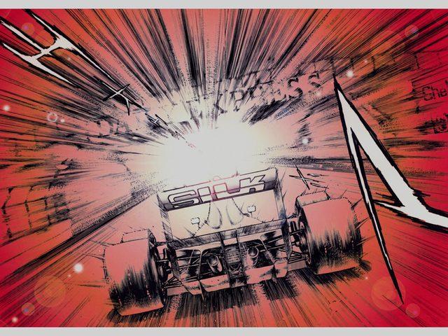 画像1: すべては超高速のスピードの中に