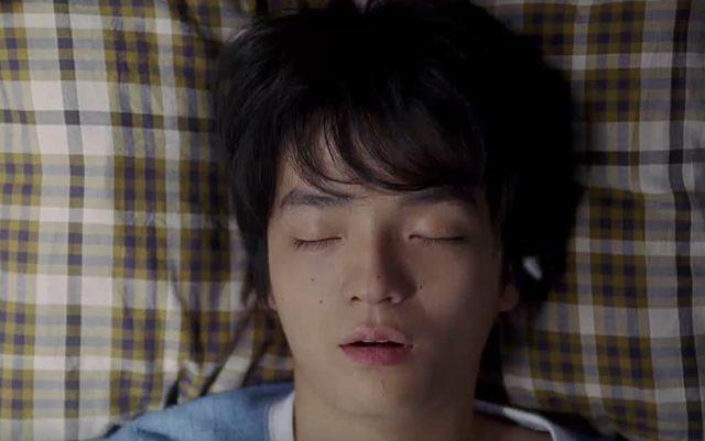 画像: 朝、ぐーすか寝ているぼく