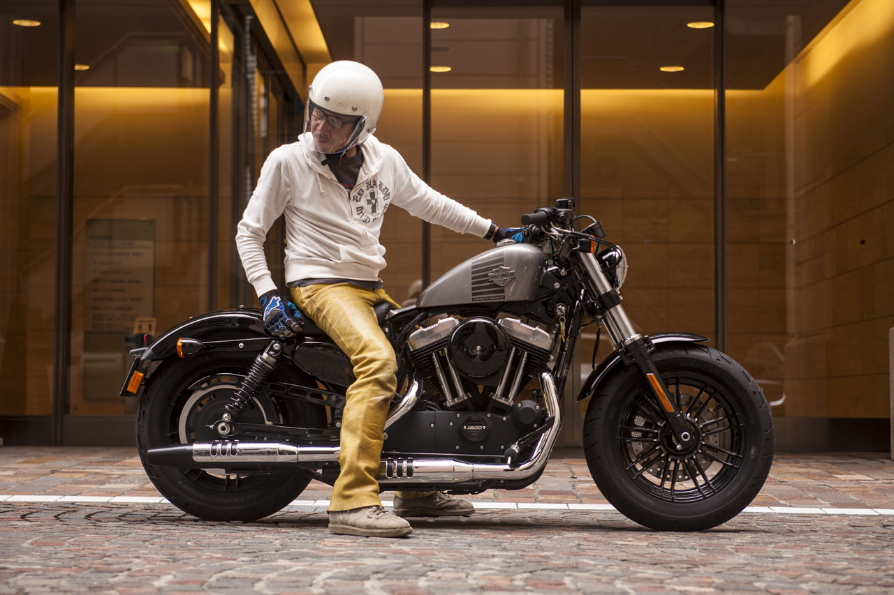 Harley Street 500 >> 伝統と進化のダイナミズムが魅力のスポーツスター「Harley-Davidson Forty-Eight」 - LAWRENCE - Motorcycle x Cars + α = Your Life.