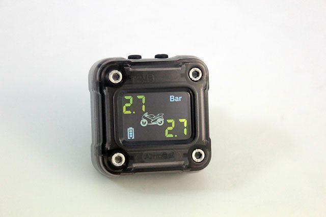 画像: プロテクタがバイク専用の充電&防水式のタイヤ空気圧・温度モニターを発表