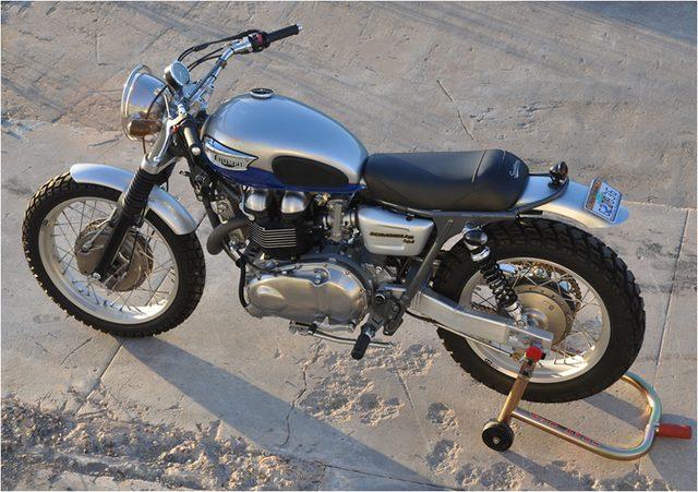 画像: Mule Motorcycles, Richard Pollock: Custom bike builder