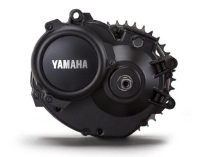 画像: 電動アシストの心臓部ドライブユニット。マットブラックカラーの上品な質感でデザイン性をも両立。