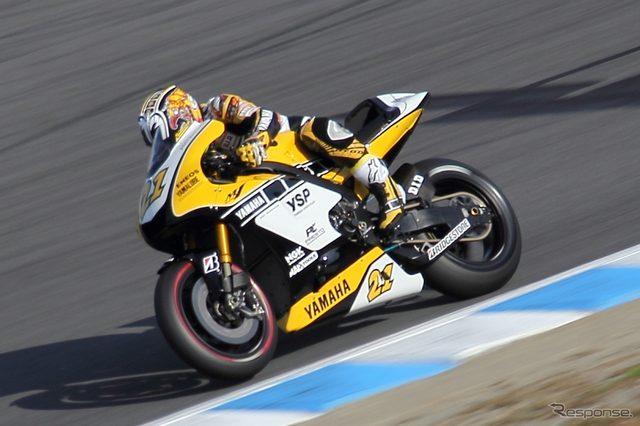 画像: 【MotoGP 日本GP】中須賀克行「記念カラーでの参戦はプレッシャーだけど光栄」