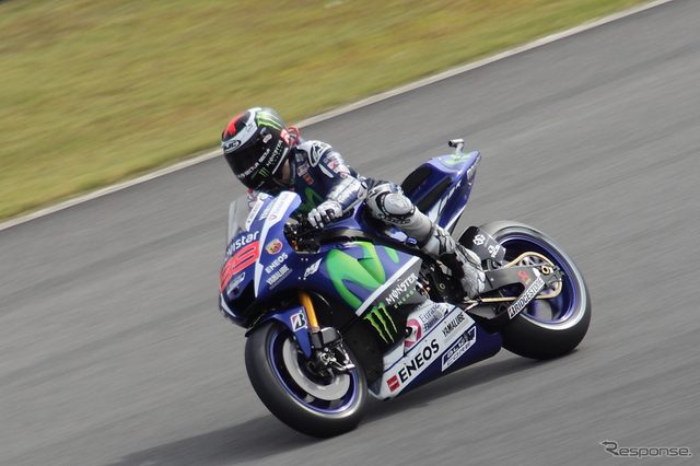 画像: 【MotoGP 日本GP】ロレンソ好調、フリー走行3回目でもトップタイム