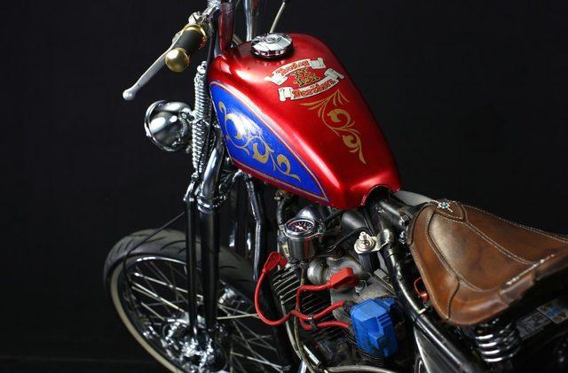 画像: 1956 Pan Head ロングスプリンガー・フォーク・Chopper!!