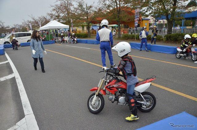 画像: 【MotoGP 日本GP】親子で楽しめるバイク体験...特設会場で開催