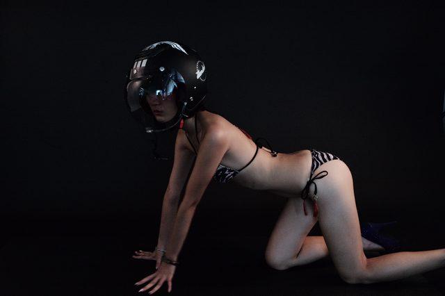 画像1: グラビア【ヘルメット女子】SEASON-XI Another 008
