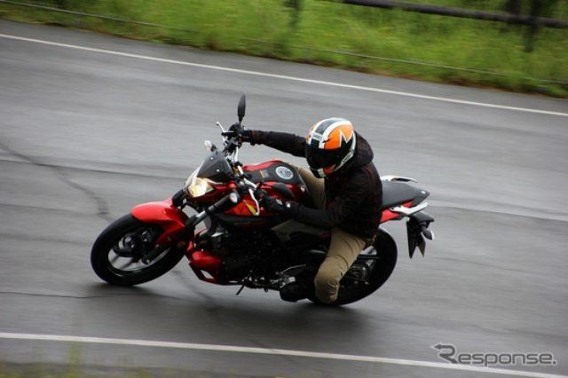 画像: 【ヤマハ MT-03 動画試乗】排気量320ccの余裕と速さ、走り追求するベテランにも...佐川健太郎