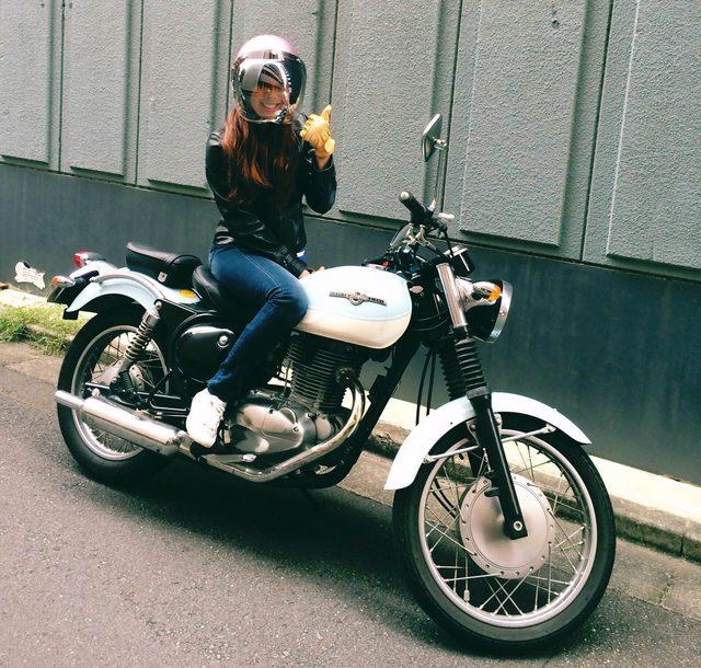 画像1: 初街中バイクデビューしました!!!!