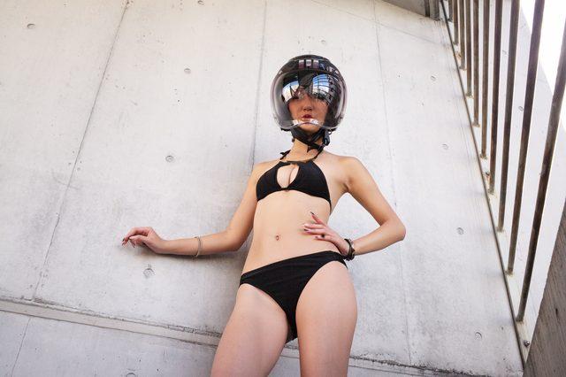 画像1: グラビア【ヘルメット女子】SEASON-XI 020