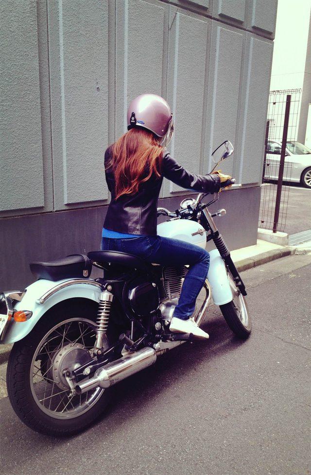 画像3: 初街中バイクデビューしました!!!!