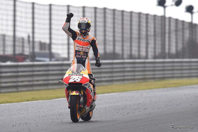 画像: 【MotoGP 日本GP】18ラップ目以降ヒートアップ...ホンダ応援席