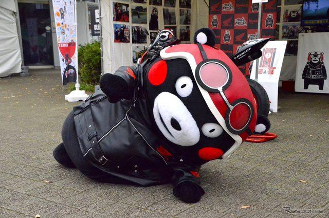 画像: 【MotoGP 日本GP】くまモンもヒジ擦り!?...サーキットの外も賑わい