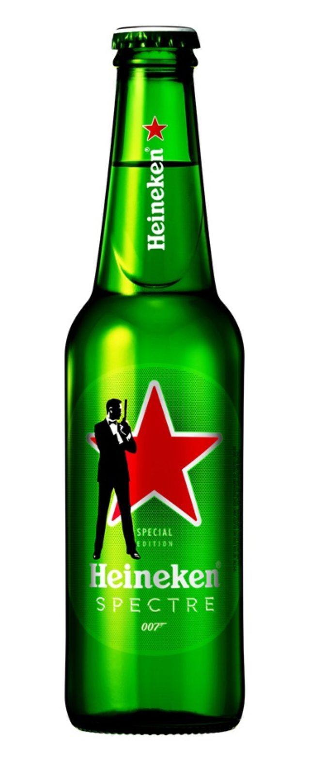 画像: 商品名:ハイネケン007デザインボトル・缶 内容量:ボトル 330ml ※地域やお取り扱い店舗によって、発売日及び販売期間は異なります。