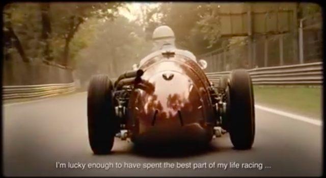 画像: 1950年代に活躍したマセラティの名機、250F(V型12気筒・2490cc・220馬力)で疾走! 実にクールな映像です。 www.youtube.com