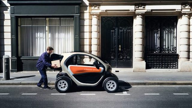 画像: Twizy。おしゃれ。 www.renault.co.uk
