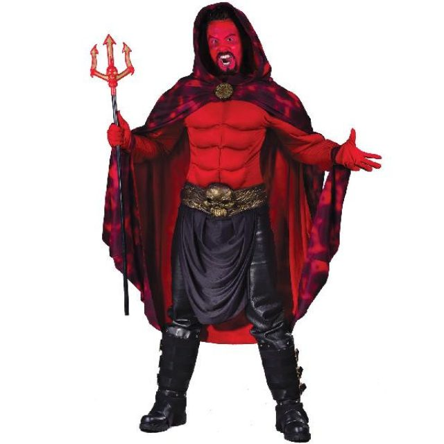 画像: ハロウィーンの仮装でおなじみのルシファー。堕天使で、後にサタンとなり、神に逆らう絶対悪の存在として知られています。 item.shopping.c.yimg.jp