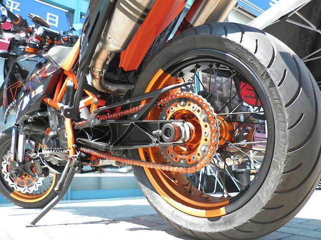 画像: EKチェーンがオレンジカラーのEK520SRX2の予約販売開始
