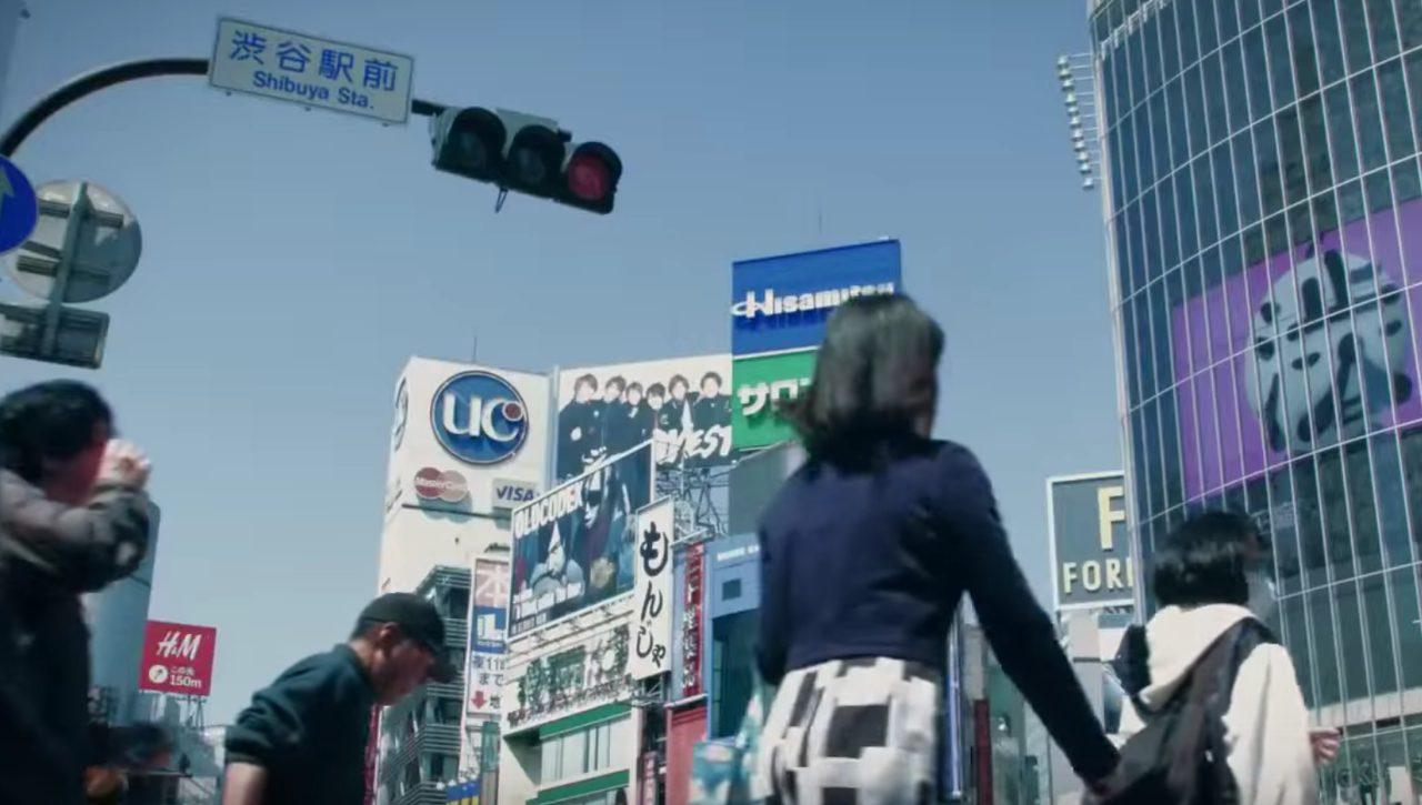 画像: 平和そうな日常の渋谷 www.youtube.com
