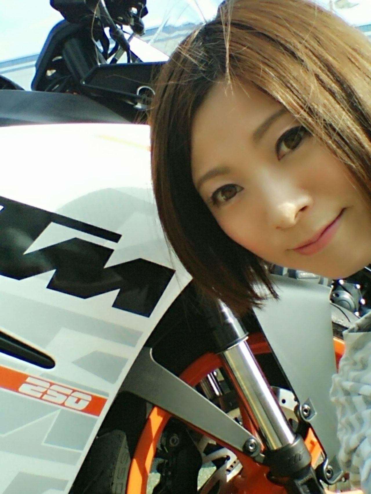 画像1: 先川知香的インプレッション!KTM【RC250】に乗ってみた。