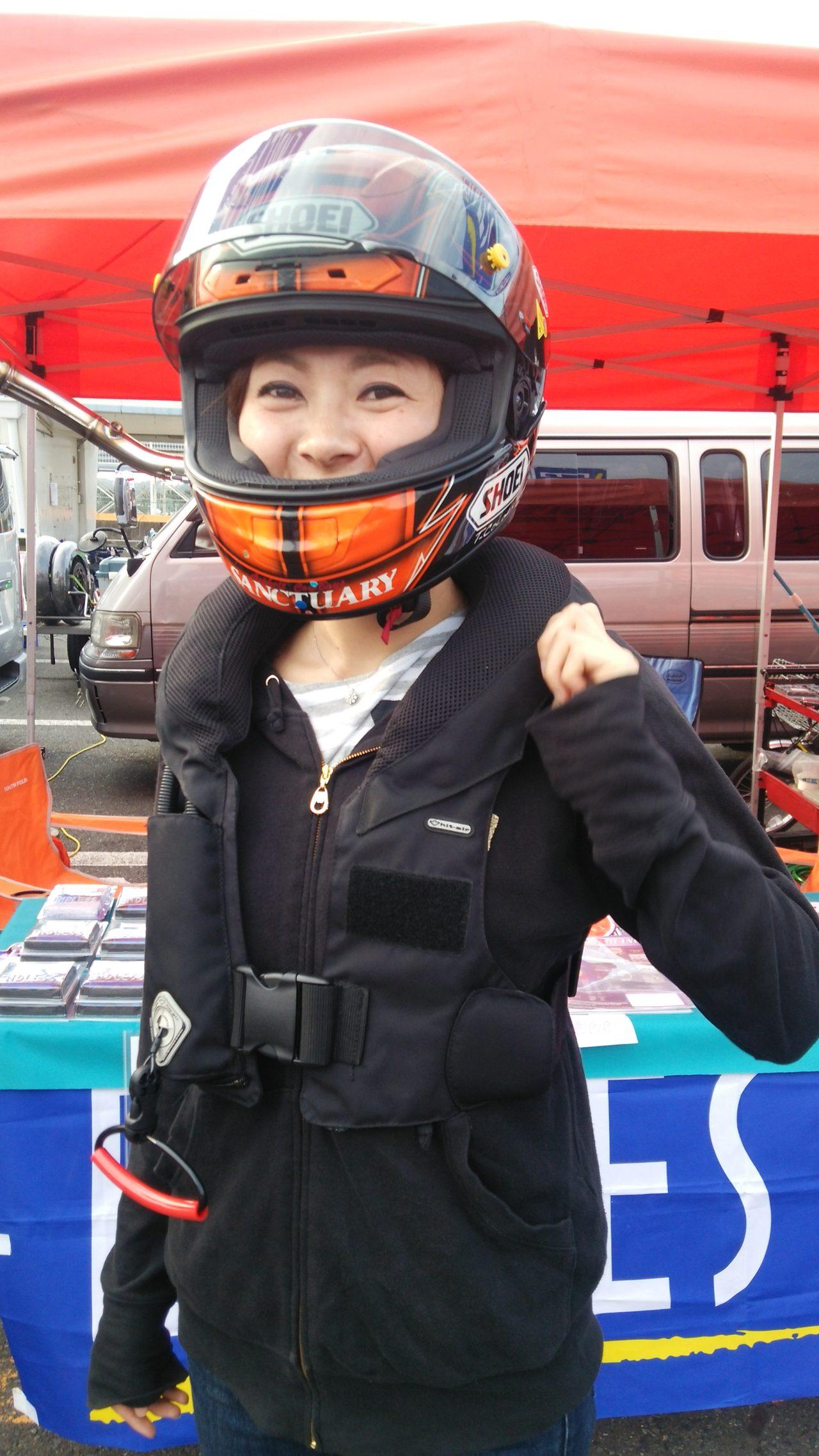 画像1: 事故の衝撃を少しでも減らす為に!!バイク用着るhit-air Neck Airbagを使ってみよう。