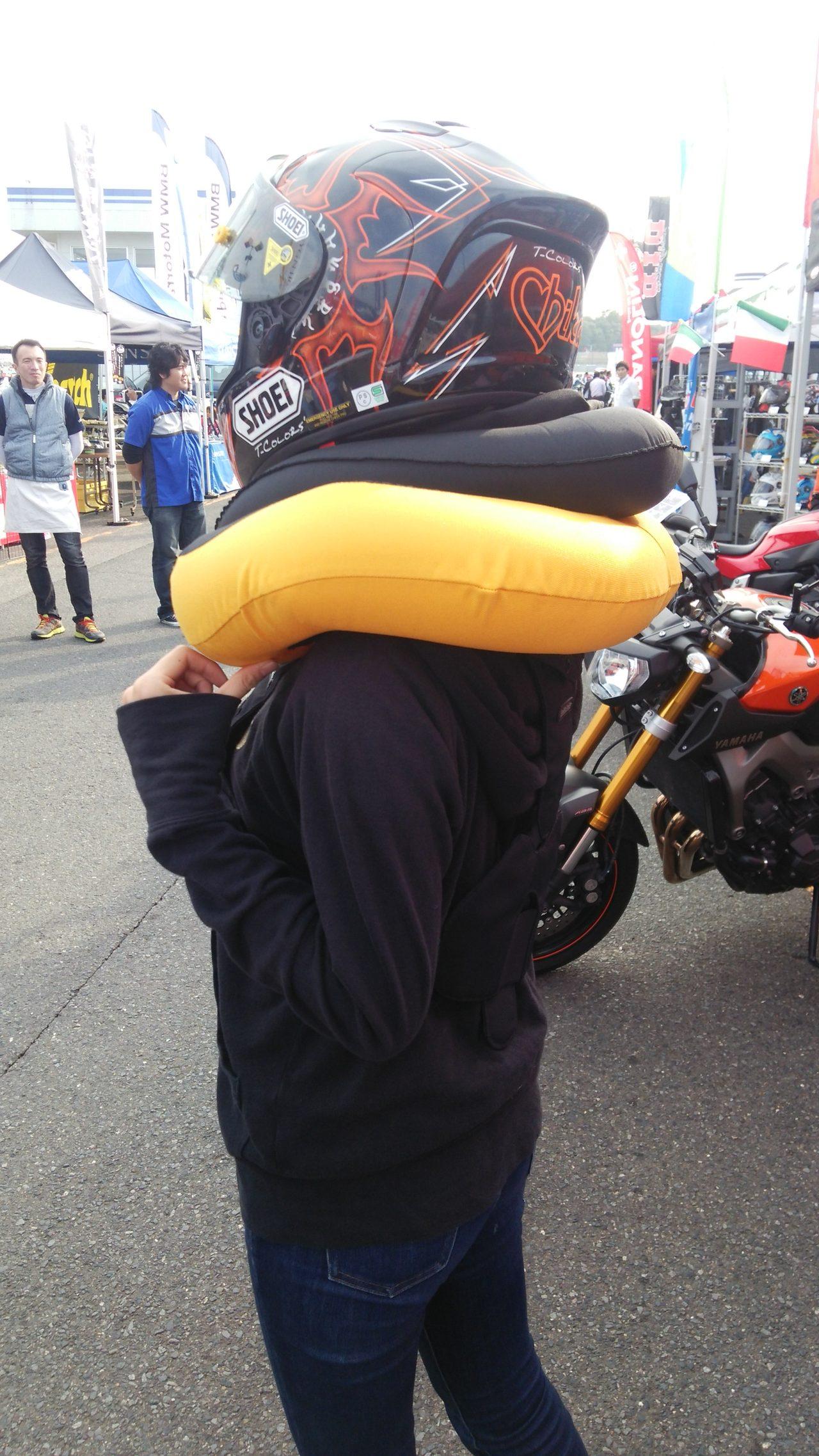 画像5: 事故の衝撃を少しでも減らす為に!!バイク用着るhit-air Neck Airbagを使ってみよう。