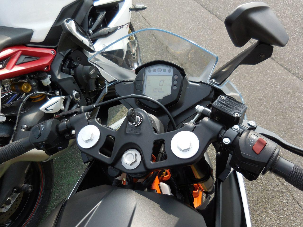 画像4: 先川知香的インプレッション!KTM【RC250】に乗ってみた。
