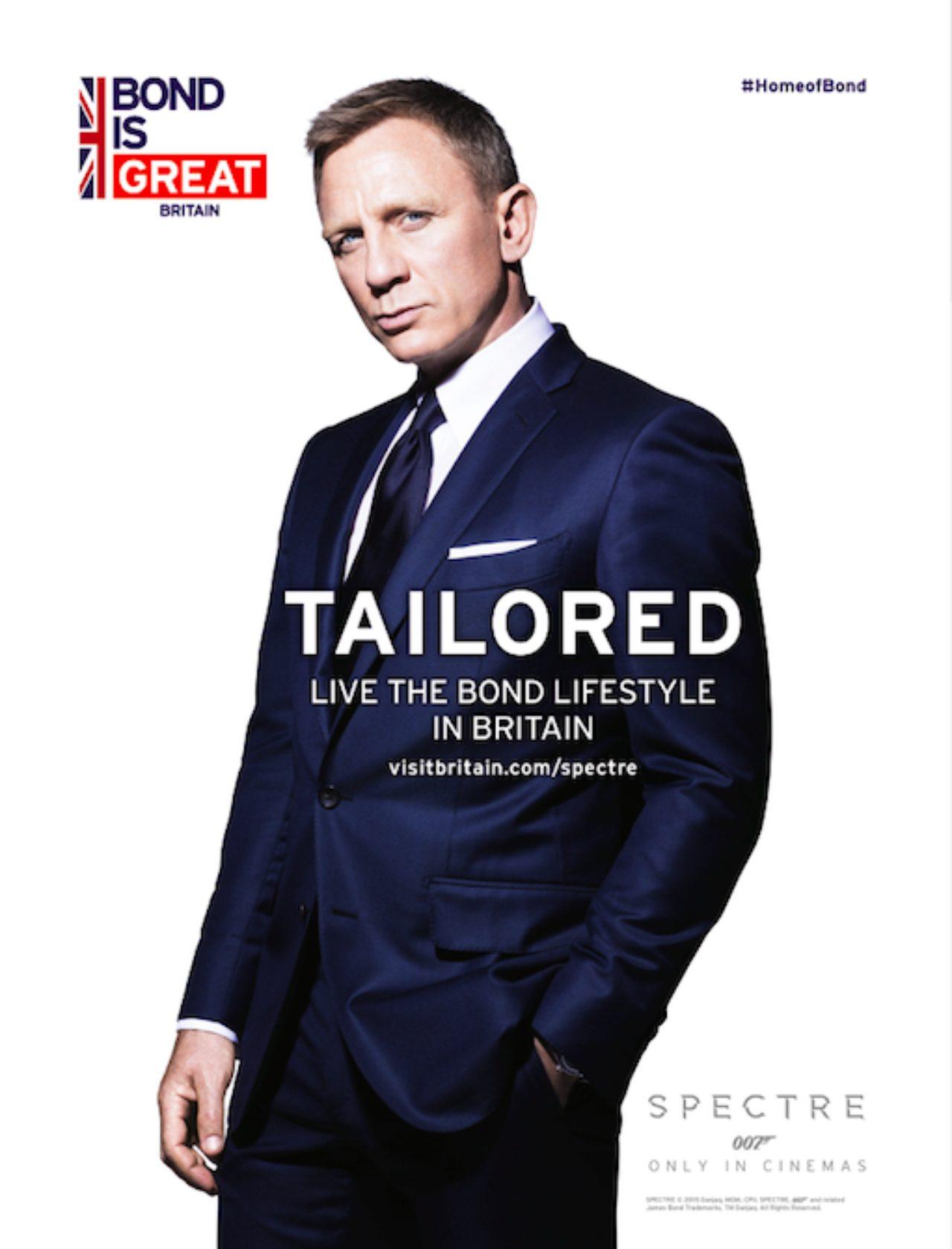 画像3: キャンペーン専用ページ VisitBritain.com/spectre で『007 スペクター』の舞台裏の映像を紹介し、さらに「Bond is GREAT」の画像も新たに公開!