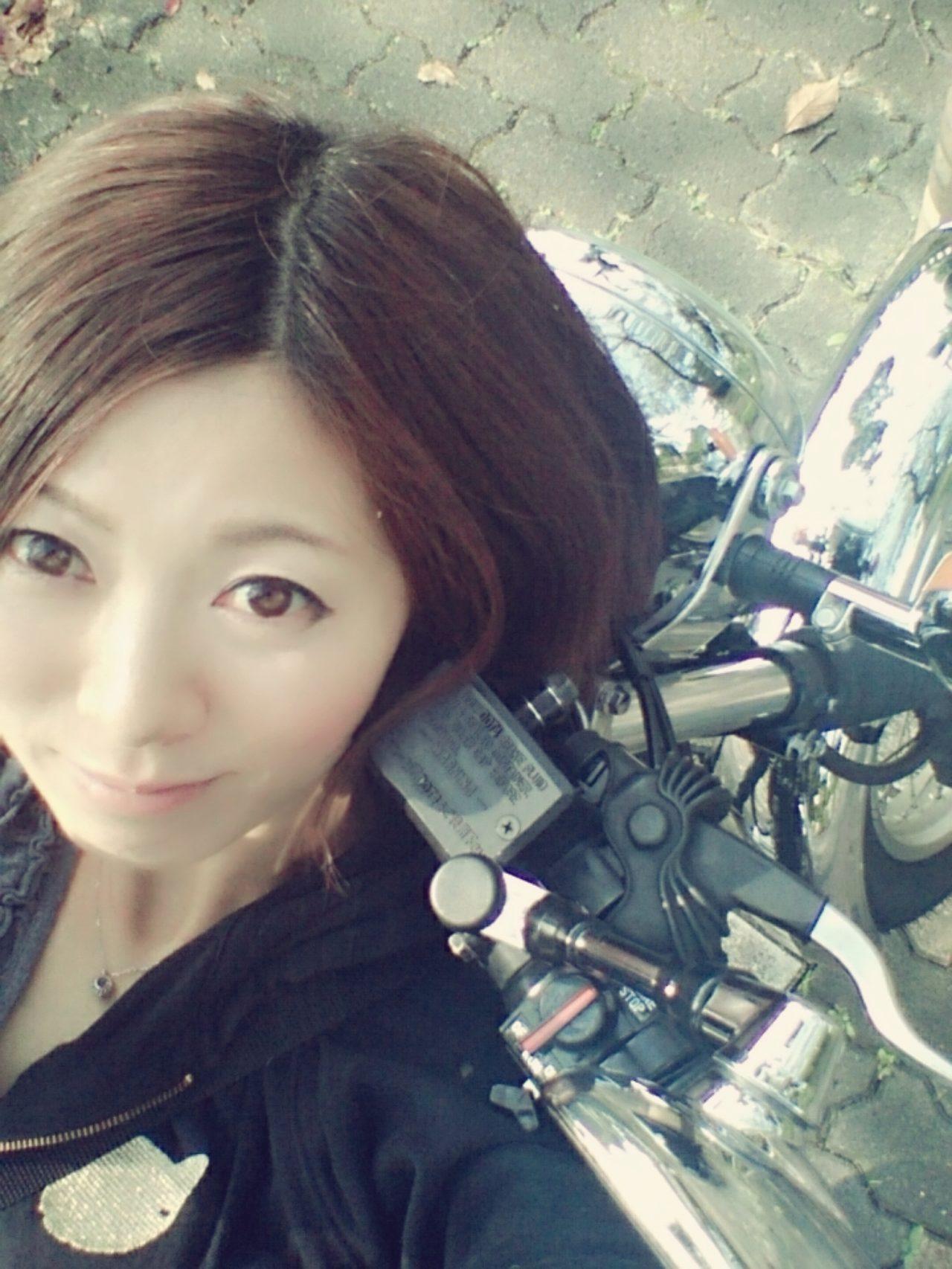 画像1: 先川知香的インプレッション!YAMAHA【SR】に乗ってみた。