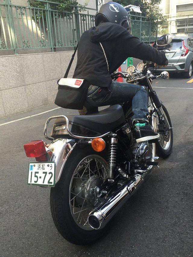 画像: 先川知香的インプレッション!YAMAHA【SR】に乗ってみた。 - LAWRENCE(ロレンス) - Motorcycle x Cars + α = Your Life.
