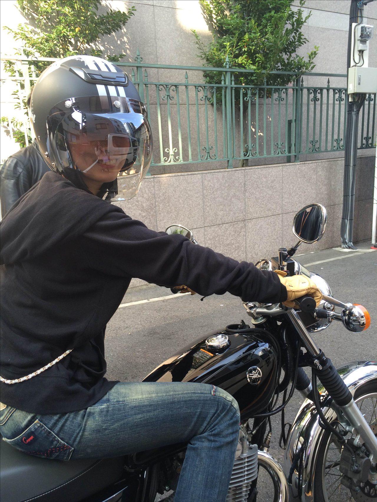 画像3: 先川知香的インプレッション!YAMAHA【SR】に乗ってみた。