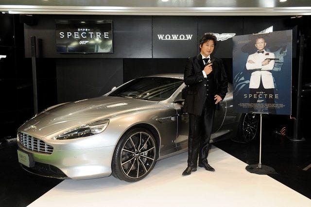 画像2: 東京モーターショーにボンドカー登場!アストンマーティン「DB9 GTボンド・エディション」日本初披露!