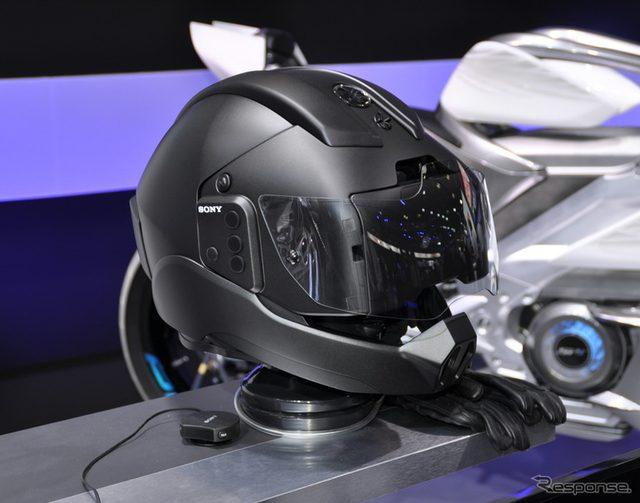 画像: 【東京モーターショー15】ヤマハ発、ソニーと共同で未来のヘルメットを開発へ