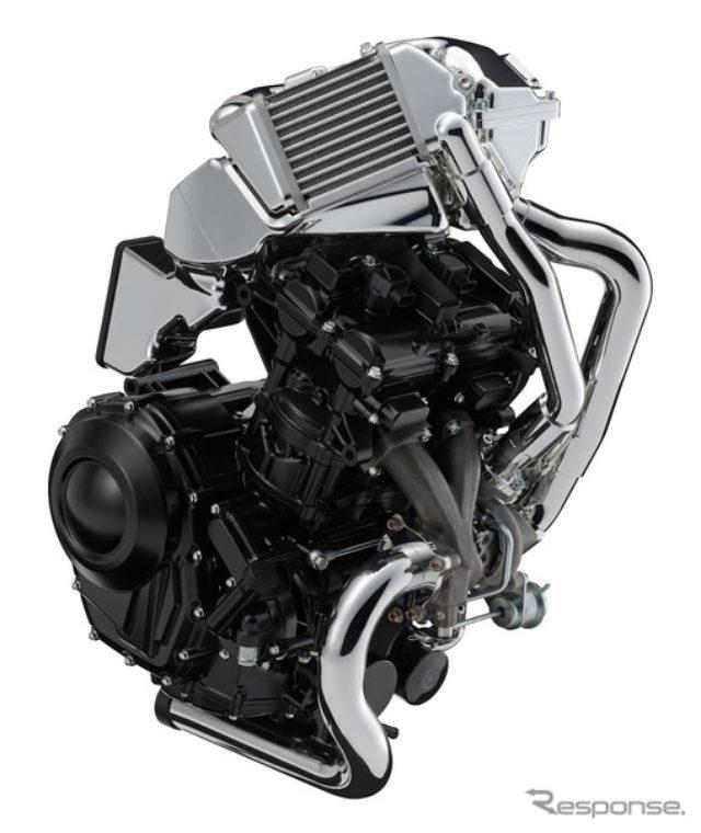 画像: 【東京モーターショー15】スズキ、バイク用ターボエンジン公開...リカージョン へ搭載か!?