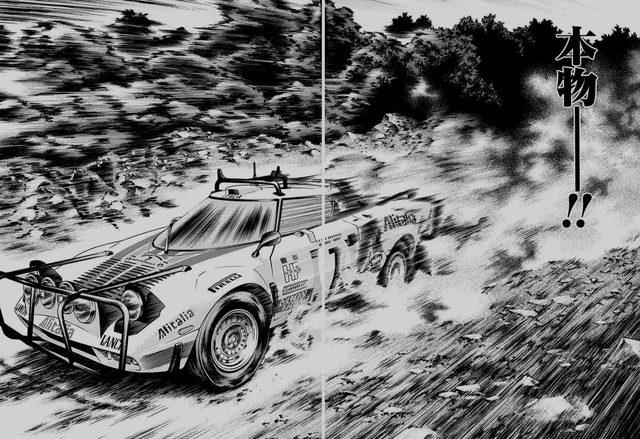 画像: ディノのエンジンを積んだラリーカー ランチャ・ストラトス