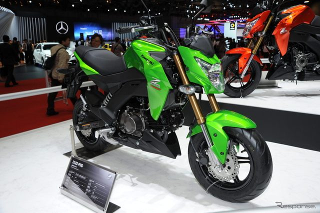 画像: 【東京モーターショー15】カワサキ Z125 PRO...日本初公開の125ccモデル[詳細画像]