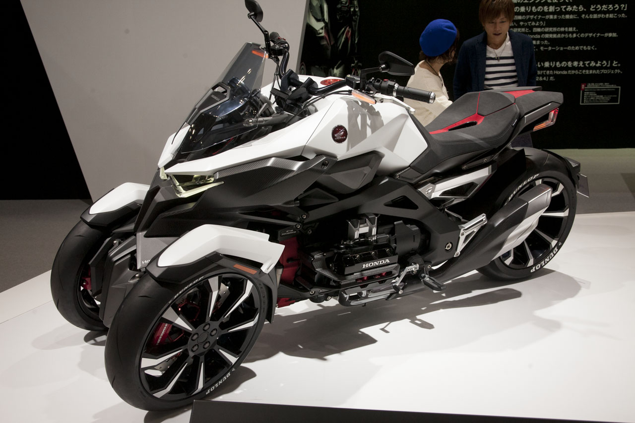 画像2: 【東京モーターショー2015】実は34年ぶりのモーターショーなのです「Honda 編」