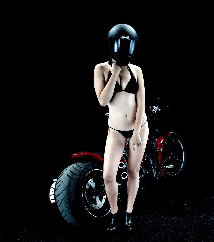 画像3: グラビア【ヘルメット女子】SEASON-XII 001 feat.BADLAND