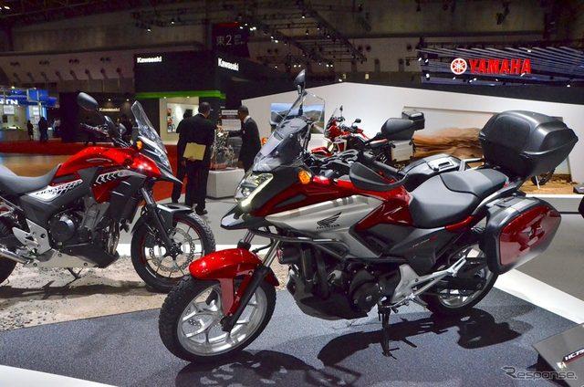 画像: 【東京モーターショー15】高速巡航がより快適に...クロスオーバースポーツ、ホンダ NC750X & 400X