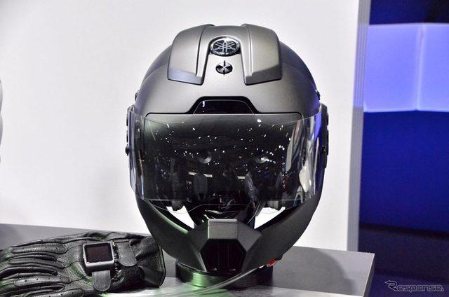 画像: 【東京モーターショー15】カメラ越しの視界をライダーに...ヤマハ&ソニー
