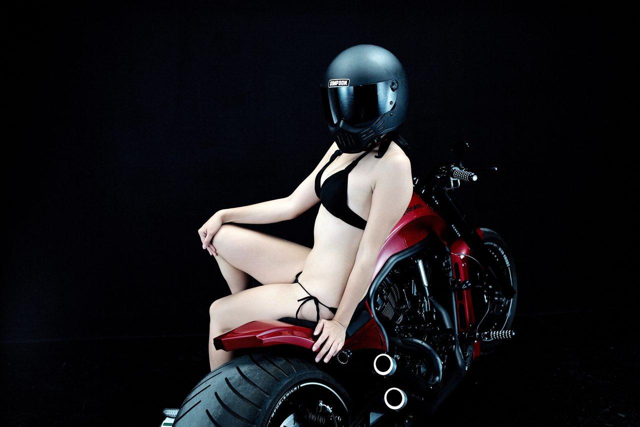 画像1: グラビア【ヘルメット女子】SEASON-XII 003feat. BADLAND